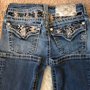 Miss Me Mid Rise Boot Jeans Sz 24 waist 31 length